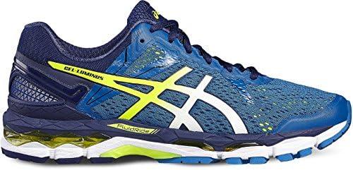 Zapatillas Asics Gel-Luminus 2, colores midnight/flash yellow/flash green, 4907 THUNDER BLUE/SAFETY YELLO, 11: Amazon.es: Deportes y aire libre