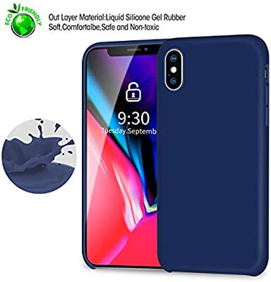 Amazon.com: iPhone X funda, XO [Love Series] Silicona ...