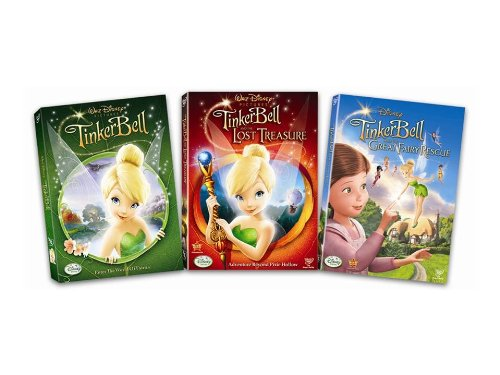 Tinker Bell Three Pack Bundle -