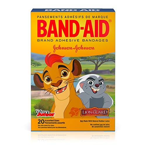 Price comparison product image Band-Aid Brand Adhesive Bandages Featuring Disney Junior, The Lion Guard, Assorted Sizes, 20 Count