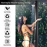 JAXSUNNY Solar Powered Shower Poolside Shower Kit