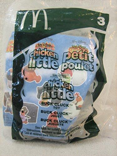 McDonald's 2005 Happy Meal Toy Walt Disney Chicken Little #3 Buck Cluck MIP