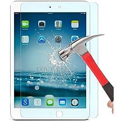 iPad Mini / iPad Mini 2/ iPad Mini 3 Pellicola Protettiva, iVoler® Pellicola Protettiva in vetro temperato per Apple iPad Mini / iPad Mini 2/ iPad Mini 3 7.9''- Vetro con Durezza 9H, Spessore di 0,3 mm,Bordi Arrotondati da 2,5D-Shockproof, Trasparenza ad alta definizione, Facile da installare- Garanzia a vita