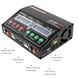 HOBBYMATE Duo Lipo Charger Dual Charge Port, Fast Lipo Charger, AC/DC Balance Charger 12A 120-240W W/ AC Power
