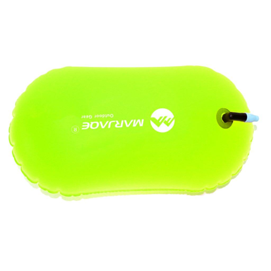 Sharplace 1 Pieza de Alta Bolsa de Aire Inflable Visible Flotador de Remolque de Boya para Nataci/ón en Agua Abierta