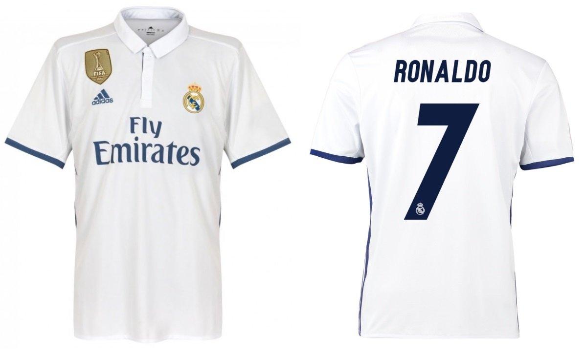 Trikot Kinder Real Madrid 2016-2017 Home WC - Ronaldo 7