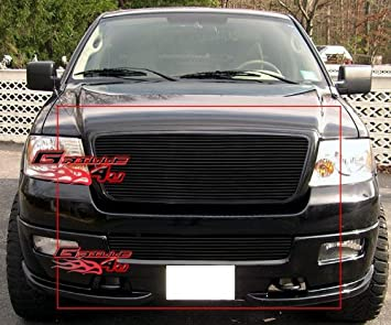 05 F150 Bumper >> Amazon Com Aps Compatible With 04 05 Ford F 150 Honeycomb