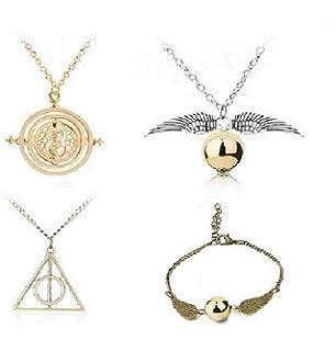 Amazon.com: Harry Potter Snitch Dorada Collar: Jewelry