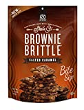 Brownie Brittle 2.75 Ounce 8 Count Variety Pack, Unbelievably Rich & Delicious Brownie Snack with A Cookie Crunch; Indulgent Salted Caramel Sandwich Cookies & 2 Boxes Toasted Coconut Sandwich Cookies