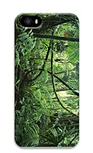 personalize covers jungle forest PC Case for iphone 5/5S
