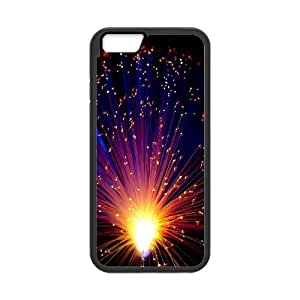 Cases for IPhone 6 Plus, LED Lights Shining Like Fireworks Cases for IPhone 6 Plus, Sexyass Black