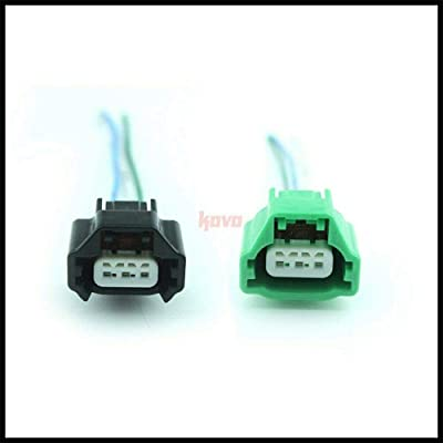 2X Connector Harness Plug For Nissan Infiniti Camshaft Position Crankshaft Sensor: Automotive