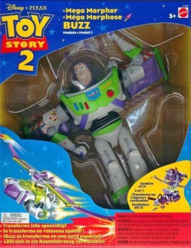 Disney Toy Story Buzz Lightyear Mega Morpher Action Figure mattel 18997