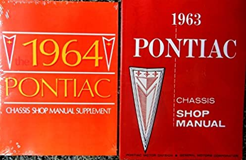 1964 pontiac set of factory repair shop service manuals includes rh amazon com