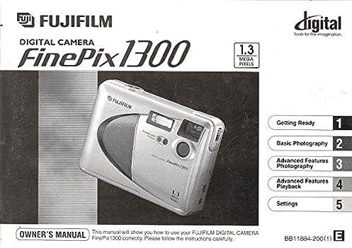 fuji fujifilm finepix 1300 digital camera original instruction rh amazon com Fuji FinePix Z Camera Fuji FinePix JX