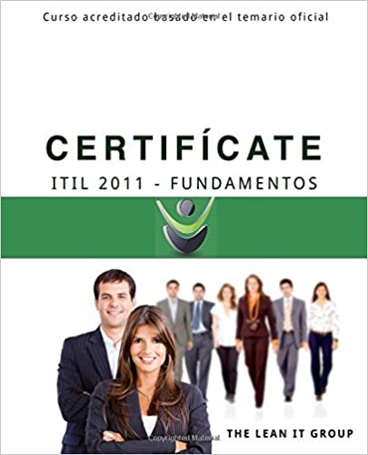 Descargar libros en línea gratis para ipad Certificate - ITIL 2011 Fundamentos: Basado en el programa de estudio oficial CHM 1508975922