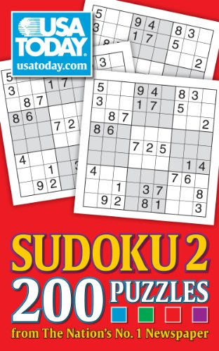 USA TODAY Sudoku 2: 200 Puzzles from The Nation's No. 1 Newspaper (USA Today Puzzles)