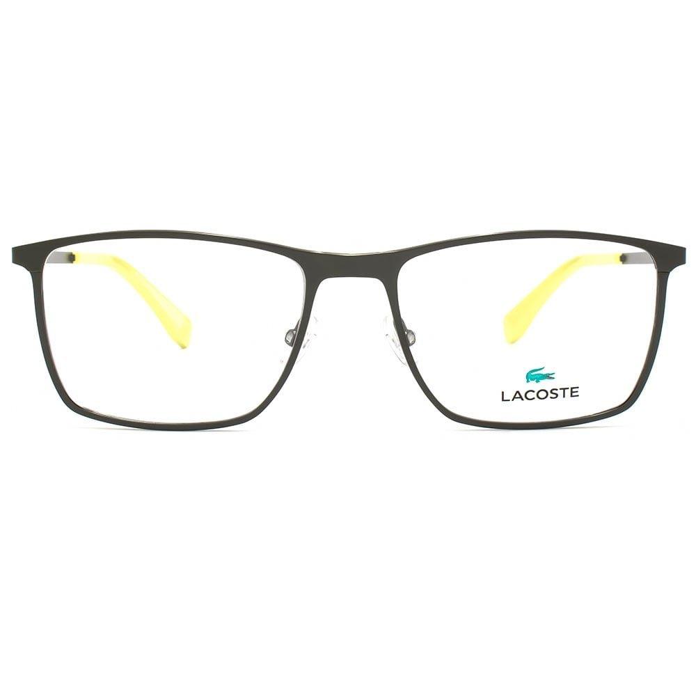 18dff2f9adb Lacoste L2223 Glasses in Matte Green L2223 315 54  Amazon.co.uk  Clothing