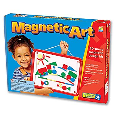 Educational Insights Magnetic Art: Toys & Games