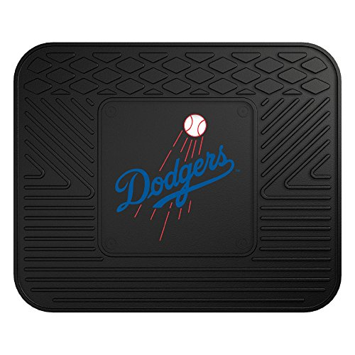 CC Sports Decor MLB Los Angeles Dodgers Heavy Duty Rear Car Seat Utility Mat