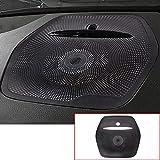 Aluminum Alloy Car Accessories Dashboard Speaker Cover Trim Black for Mercedes Benz GLE ML W166 GL X166 GLS Class