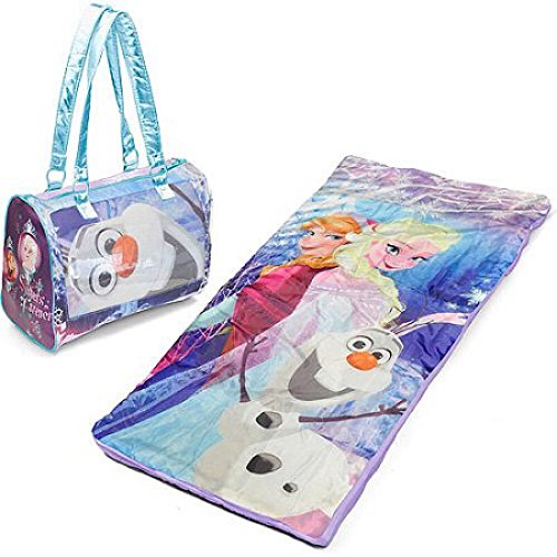 Disney Frozen Toddler Sleepover Set - Sleeping Bag & Girls P