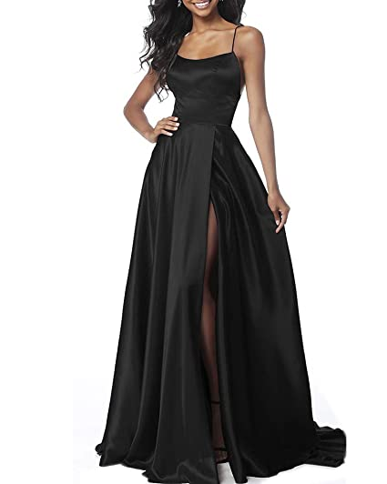Aofur Womens Evening Dress Red Ball Gown Prom Evening Party Formal