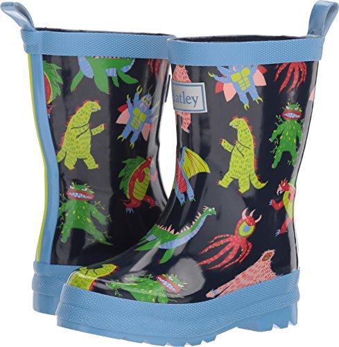 Rain Boots, Mega Monsters, 13 M US Little Kid ()