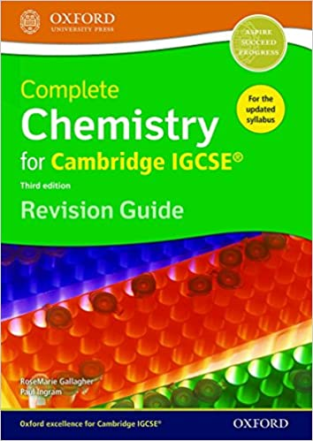 Complete chemistry for cambridge igcse rg revision guide third complete chemistry for cambridge igcse rg revision guide third edition 3rd edition fandeluxe Choice Image