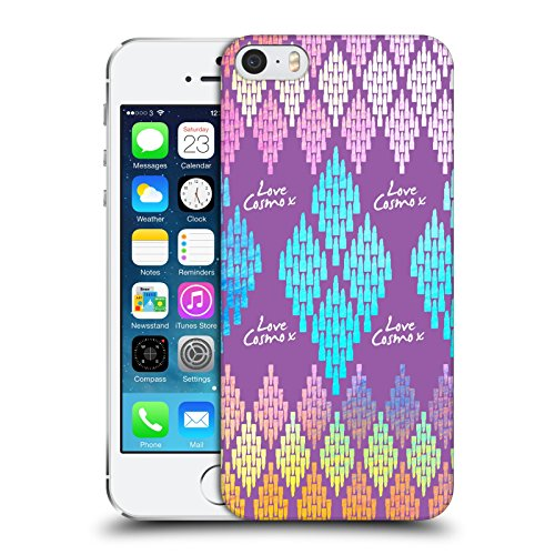 Official Cosmopolitan Lipstick Aztec Brights Hard Back Case for Apple iPhone 5 / 5s / SE