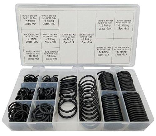 SAE Boss O-Ring Kit 250 Piece FKM/Viton 90 Duro