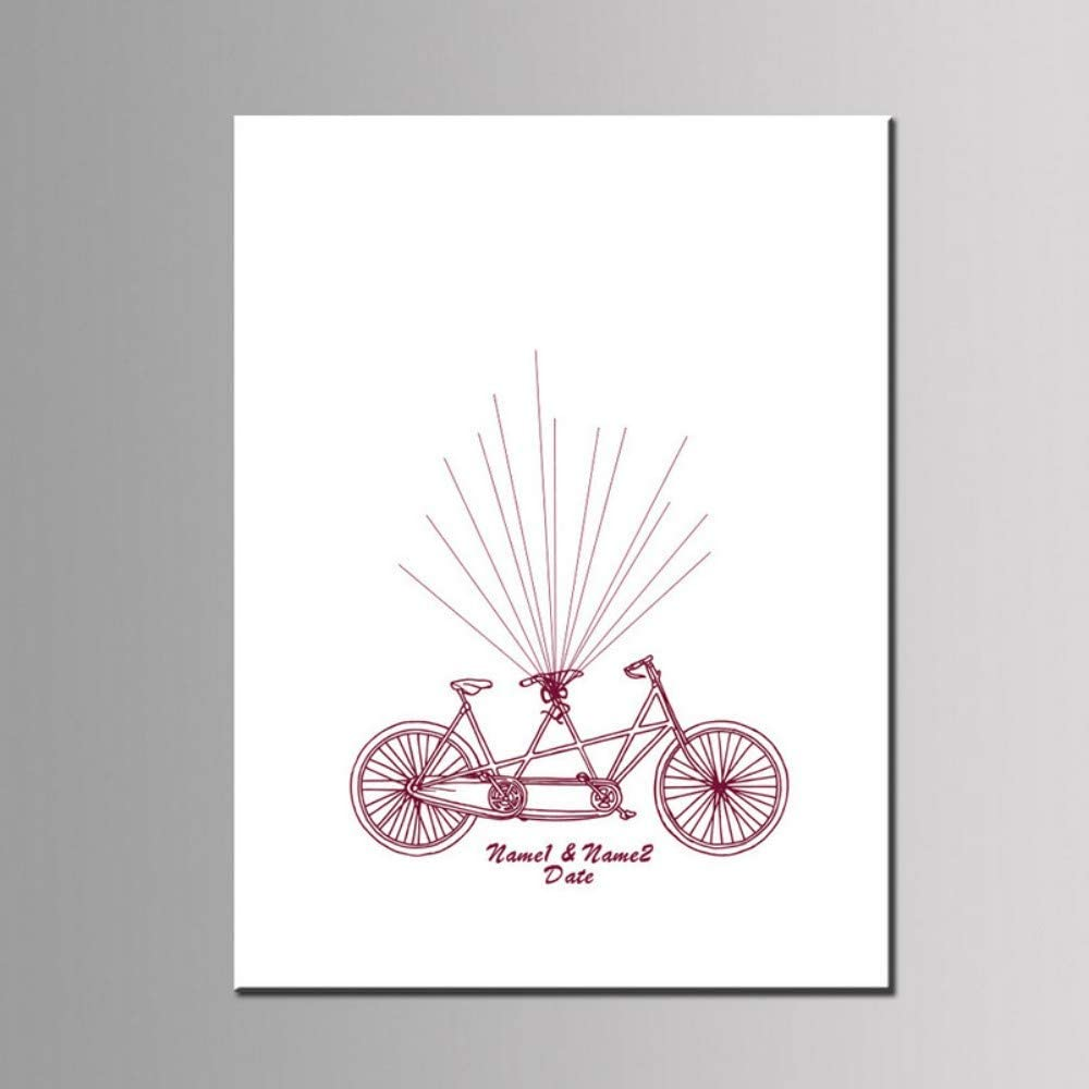 PANDABOOM Huella Digital Asistencia Dibujar Bicicleta Globo ...