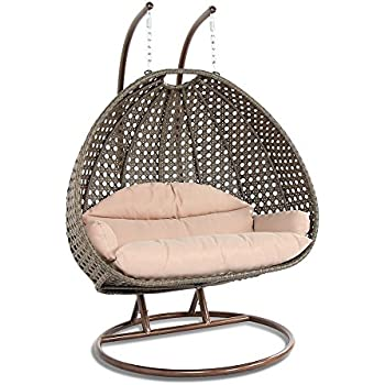 Amazon Com Modway Hide Outdoor Patio Swing Chair With