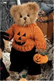 "Bearington - 10"" Mac & Jack Pumpkin Scented Halloween Bear"