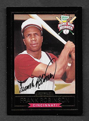 frank-robinson-1999-hillshire-farms-autographed-signed-card-coa-near-mint-condition
