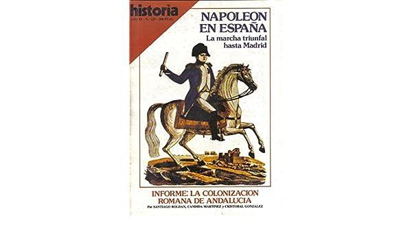 Historia 16 numero 129: Napoleon en España: Amazon.es: Varios: Libros