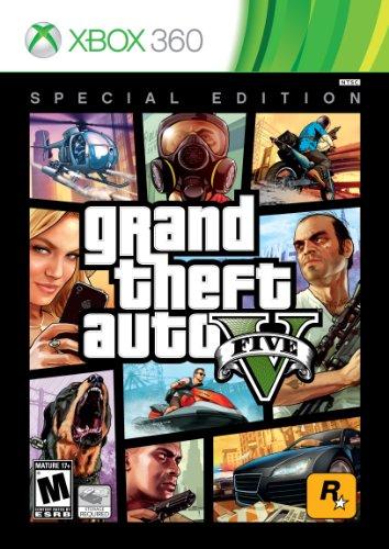 Grand Theft Auto V - Special Edition (Grand Theft Auto 5 Xbox 360 For Sale)