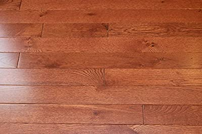 "Elk Mountain Oak Cherry 3/4 x 3-1/4"" Solid Hardwood Flooring SAMPLE"