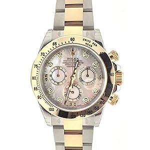 51zny3v ukL. SS300  - Rolex Cosmograph Daytona 40 Mother of Pearl Diamond Dial Gold Bracelet Watch 116503