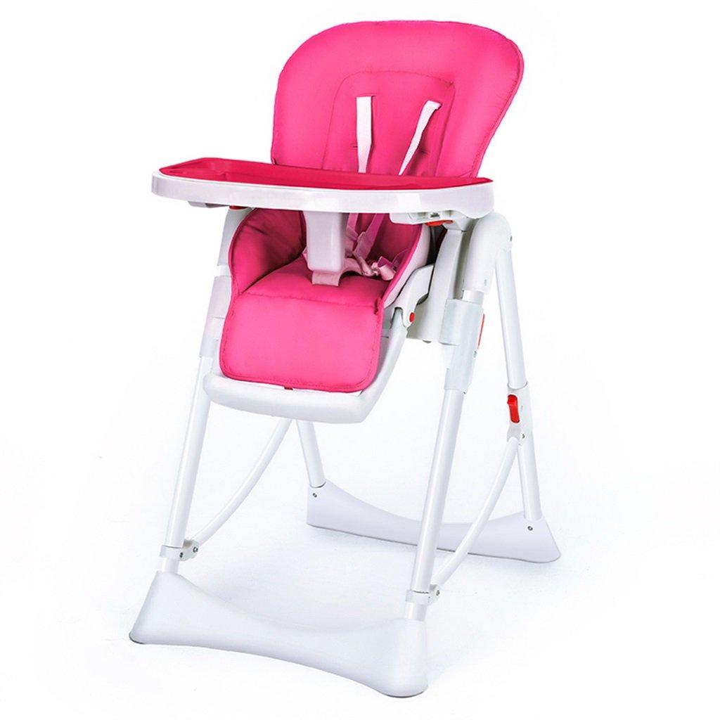 Baby-Kind-Speisen Stühle Faltbare Multifunktions-bewegliche Kinderstühle Baby essen Speisetisch-Stuhl-Edelstahl-Haltewinkel-Geschenk ( farbe : # 2 )