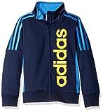 Adidas Big Boys' Tiro and Tricot Jackets, Navy, M
