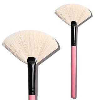 SHUAZI Trucco professionale più di vernice, spazzola a ventaglio, trucco trucco spazzola 1pz, pink