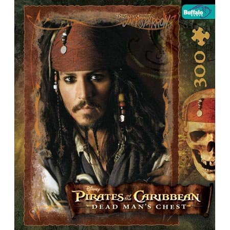 Captain Jack Sparrow Pirates of the Caribbean Jigsaw Puzzle 300pc