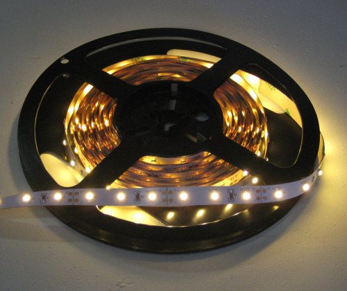 Super Warm White Flex LED Strips, 5M Spool-12v, 2700K (16.4ft) by Creative Lighting Solutions