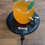 Kenley Fermentation Carboy Heater - Kombucha Heating Pad 12'' - Homebrew Warmer Kit with Built-in Temperature Control - Brew Vessel Warming Mat for Beer Wine Tea Home Brewing - Consistent Radiant Heat