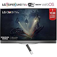 LG OLED55E7P - 55 E7 OLED 4K HDR Smart TV (2017 Model) + 1 Year Extended Warranty (Certified Refurbished)