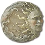 Gifts & Decor Celestial Sun Moon Star Wall Plaque