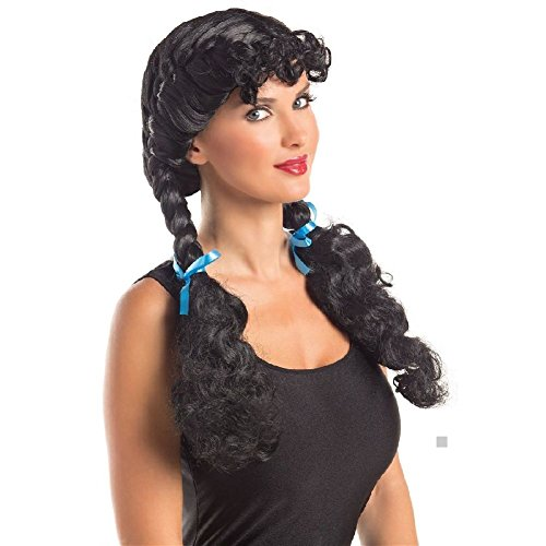 [Dorothy Costume Wig Adult Farm Girl Halloween Fancy Dress] (Dead Dorothy Costumes)