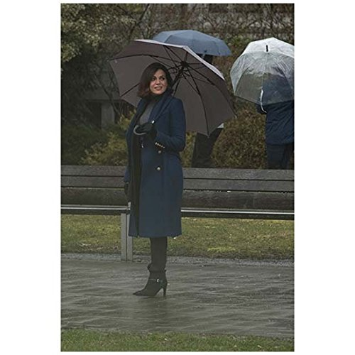 Once Upon a Time Lana Parilla as Regina Standing Tall Full Length Distance Shot Slight Smile 8 x 10 Inch Photo