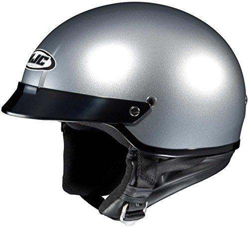 HJC Helmets CS-2N Helmet (Light Silver, Large) - Hjc Cs Air Helmet